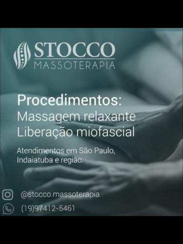 Imagem 1 de 1 de Massagem Relaxante E Liberação Miofascial