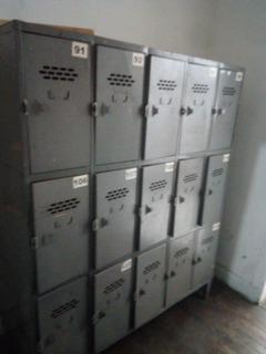 Lockers 15 Casilleros ( 3 Unidades)