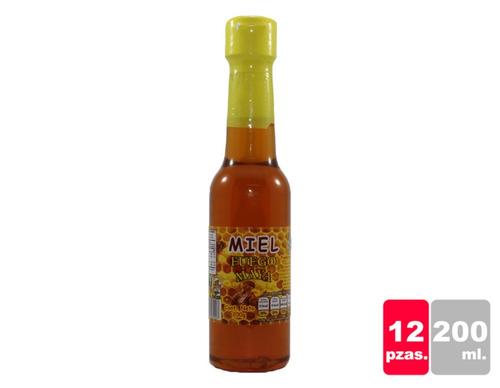 Miel, Fuego Maya 200 G Caja 12 Pzas