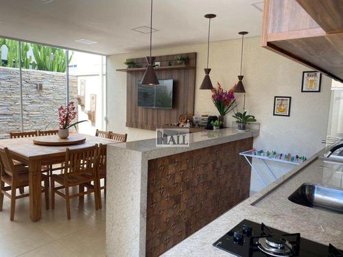 Casa À Venda Condomínio Village Imperial Com 3 Quartos, 2 Vagas - V8139