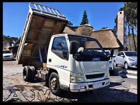 Camion Jmc Volcadora Con Motor Isuzu Amaya