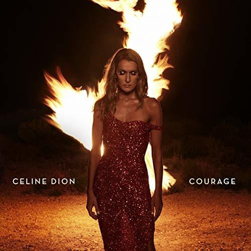 Cd : Celine Dion - Courage (x6gf)