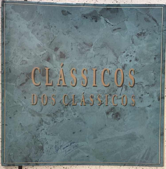 Lp Clássicos Dos Clássicos -box 4 Volumes