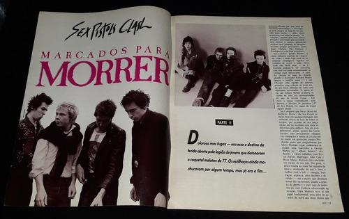 Sex Pistols E Pil _ Lote 04 De Recortes Originais