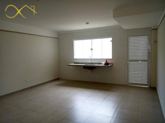 Casa Residencial Com 2 Dormitórios À Venda E Locação, 120 M² - Parque Bom Retiro - Paulínia/sp - Ca1691