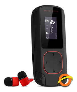 Reproductor Mp3 Bluetooth Radio Recargable Microsd Fitness