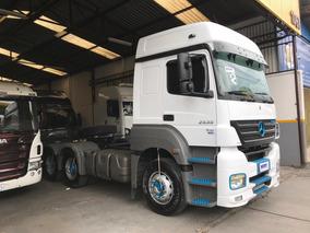 Caminhão M.benz Axor 2535 6x2 Teto Alto Semi-automatico 2012