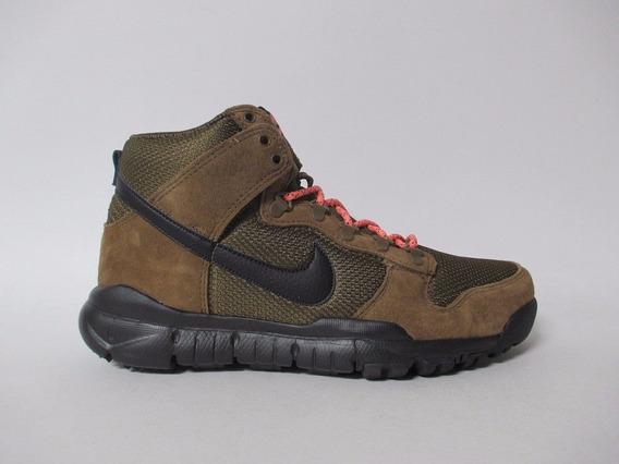 Nike Sb Dunk High Boot Military Importación Mariscal