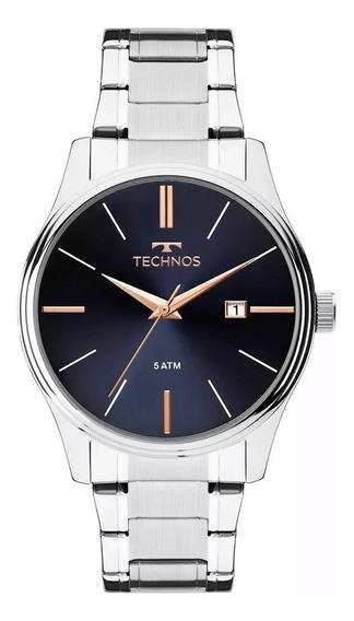Relógio Technos Masculino Classic 2115mpm/1k Original Barato