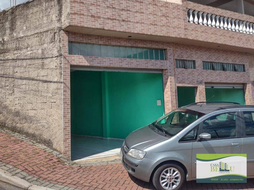 Imagem 1 de 10 de Salão Para Alugar, 50 M² Por R$ 1.300,00/mês - Parque Cento E Vinte - Francisco Morato/sp - Sl0040