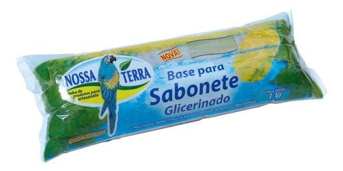 Imagem 1 de 2 de Base Glicerina Perolada Para Sabonete - Nossa Terra Full