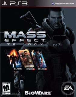 Mass Effect Trilogy ~ Ps3 Digital Español