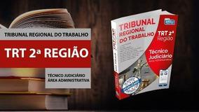 Apostila Trt Sp Atualizado 2018 - Técnico Judiciário Alfacon