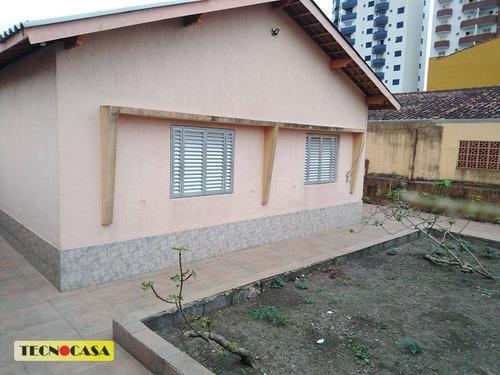 Ótima Casa Com 02 Dormitórios Para Venda Com  103 M² No Bairro Vila Tupi Em  Praia Grande/sp. - Ca4731