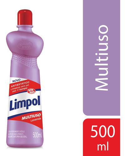 Limpador Multiuso Limpol Lavanda 500ml