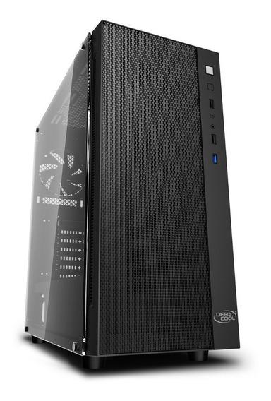 Gabinete Deepcool Matrexx 55 Mesh Super Flujo De Aire Vidrio
