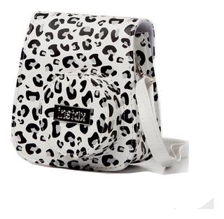 Carterita Animal Print P/ Instax Mini 8 Y 9 Fuji C/hebilla