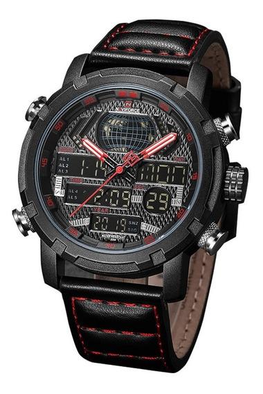 Relógio Naviforce 9160 Original Militar Na Caixa