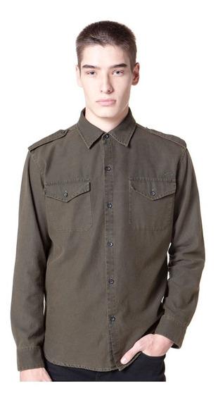 Camisa Vicus Fall Verde Militar