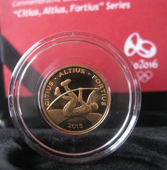 Moeda Olimpíadas Ouro Salto Com Vara 12 X Frt Grátis (222)
