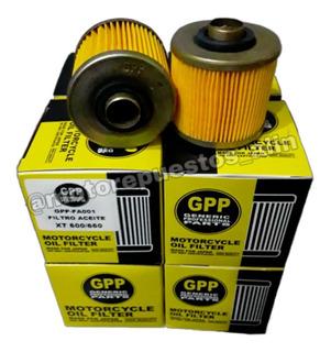 Filtro Aceite Gpp Yamaha Xt660 Xt600 Virago Tdm850 3$