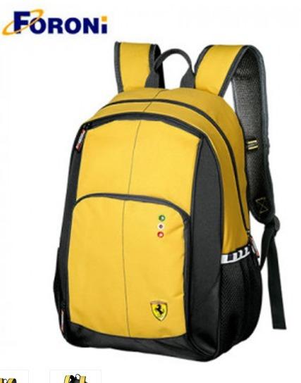 Mochila Para Notebook 16 Polegadas Ferrari Scuderia Vermelho