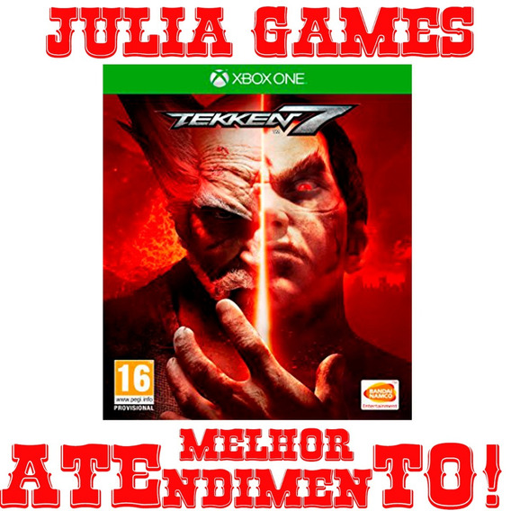 Tekken 7 Xbox One Digital Offline + Brinde