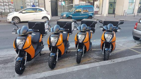 Moto Electrica Super Soco E-max Velocidad 80km/h Nueva