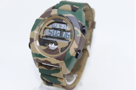 Relógio Masculino Digital Camuflado adidas