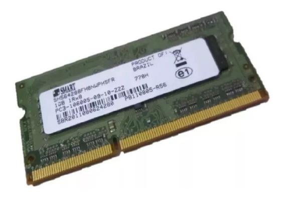 Memória Ddr3 1gb Pc3-10600s Smart Notebook