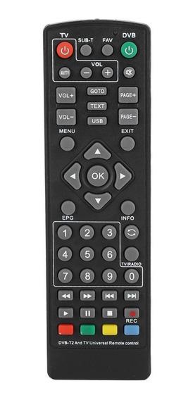 Alta Qualidade Substituição Dvb-t2 Set Top Box Controle Remo