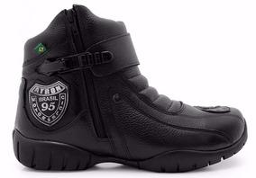 Bota Motociclista Atron Shoes Unissex 271 Cores Promoção