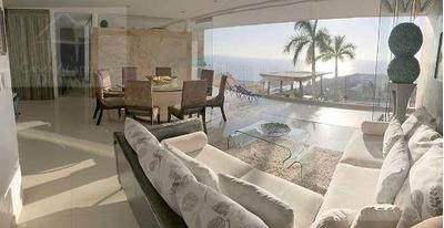Cad Eliazul 102. Terraza Con Vista A La Bahía. Family Room