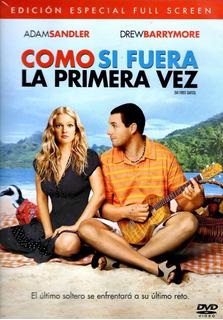 Como Si Fuera La Primera Vez Dvd Original 50 First Dates
