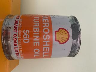 Aceite Aeroshell Turbine Oil 560