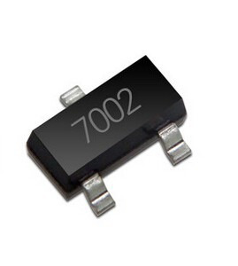 Transistor 2 N 7002 N-canal S M D 702 Sot-23 100 Unidades