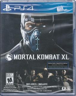 Mortal Kombat Xl Playstation 4 Disco Físico Nvo Envío Gratis