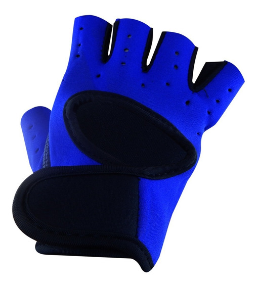 Guantes Gym Unisex Fitness Caucho Crossfit Colores Pesas