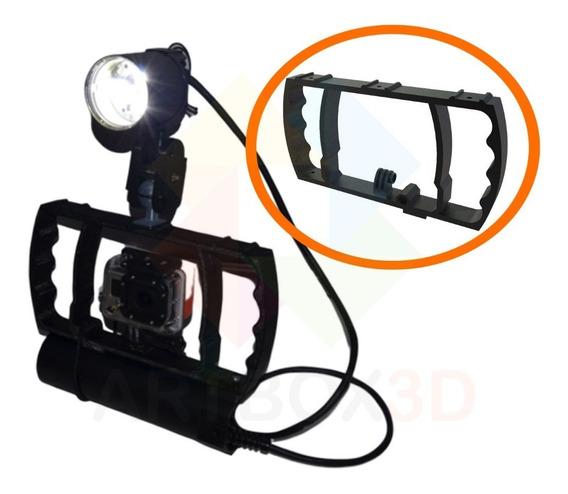 Suporte Handle Para Camera Gopro Hero 1 2 3 4 5 6 E 7 Xiaomi