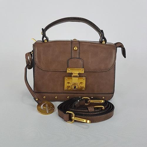 Bolsa Tiracolo Chalita Ch0391 Caqui
