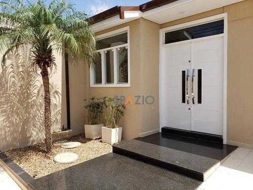 Imagem 1 de 20 de Casa Com 3 Dormitórios À Venda, 194 M² Por R$ 800.000 - Cidade Jardim - Rio Claro/sp - Ca0412