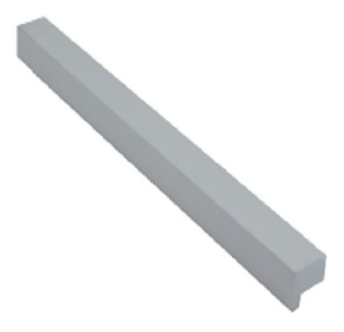 Imagen 1 de 5 de Manija Tirador Barral L Aluminio 160 Mm.