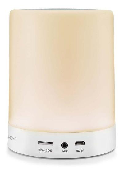 Caixa De Som Bluetooth 10w Com Iluminação Ambiente Led Speaker Sp287
