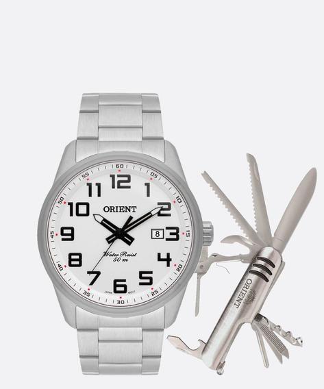 Kit Relógio Masculino Orient Mbss1271 Kb97s2sx