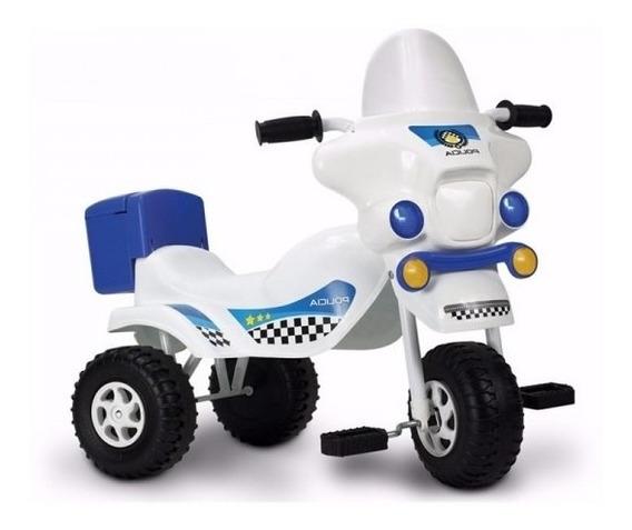 Triciclo Infantil Moto Z Portaobjetos Estructura De Caño