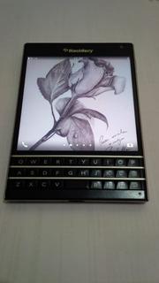 Blackberry Passport Black Piano - Defeito Leitor Do Chip