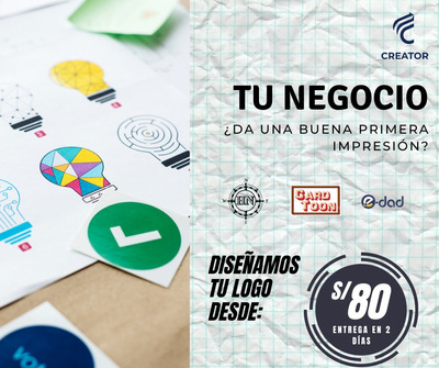 Diseño Logo Logotipo Para Todo Tipo De Empresa
