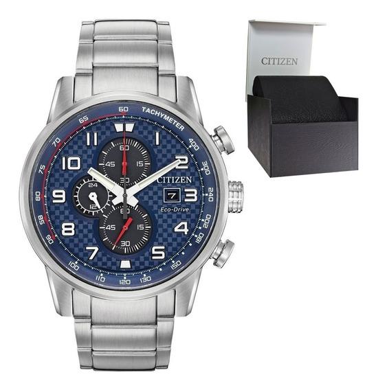 Reloj Hombre Citizen Ca0680-57l Ecodrive Crono Deportivo