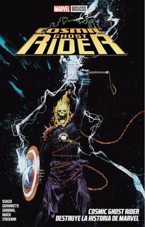 Cosmic Ghost Rider Destruye La Historia De Marvel - Basicos