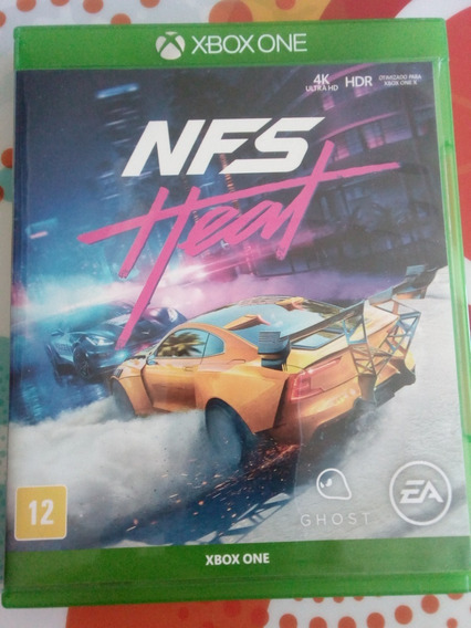 Jogo Need For Speed Heat Xbox One Midia Física - Seminovo